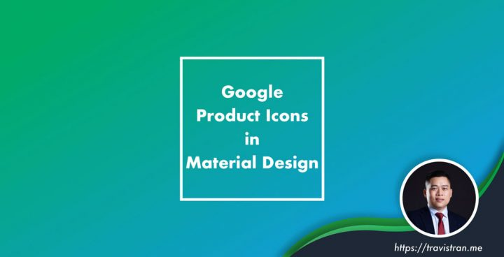Google Product Icons in Material Design
